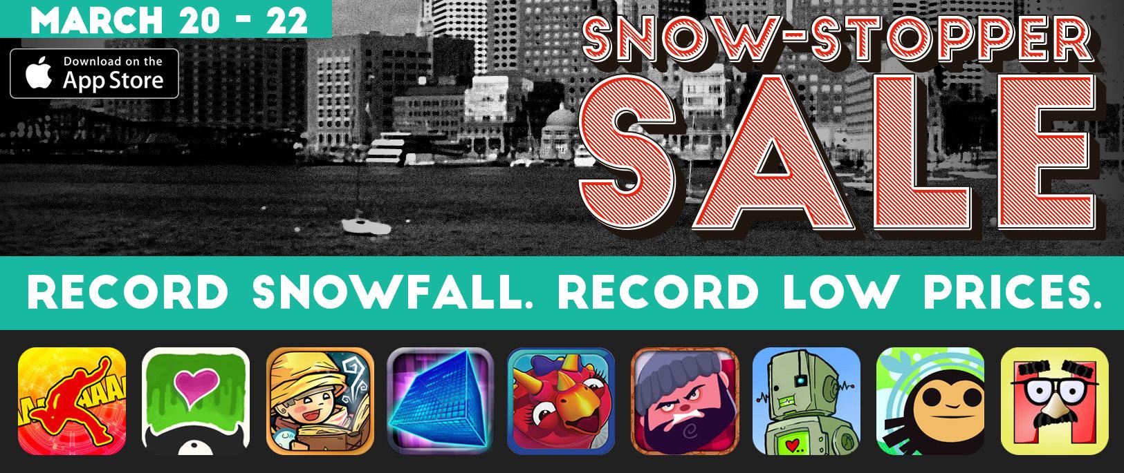 Sayonara Snow Sale